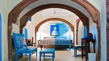 Nandan Mahal Facade_Tijara Fort Palace_Hotel In Rajasthan