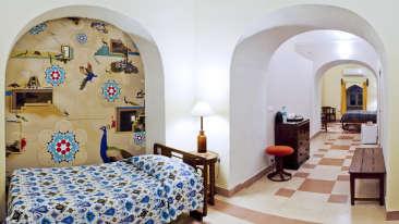 Panda Mahal Tijara Fort-Palace Alwar Rajasthan 1