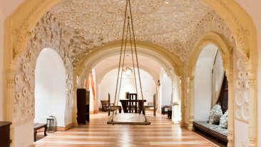 Surya Mahal 2 Facade_Tijara Fort Palace_Hotel In Rajasthan