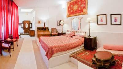 Lekha Mahal Neemrana Fort-Palace Alwar Rajasthan