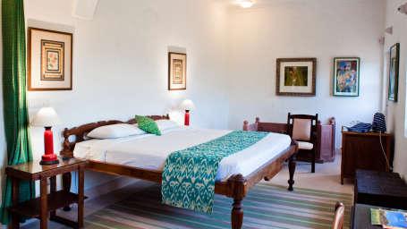 Hill Fort-Kesroli Alwar Abhaneri Mahal Heritage Hotel in Rajasthan