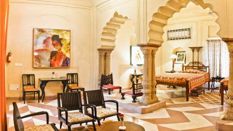 Alka Mahal Tijara Fort-Palace Alwar Rajasthan