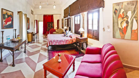 Amrita-Vivan Mahal Tijara Fort-Palace Alwar Rajasthan