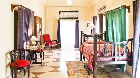 Anjum Mahal Tijara Fort-Palace Alwar Rajasthan