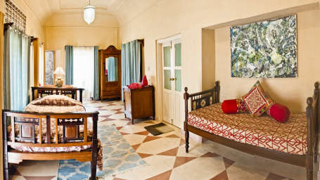 Jayashree Mahal, Tijara Fort Palace, Hotel Rooms in Alwar, Rooms in Tijara 39