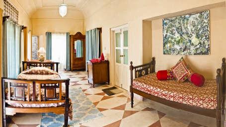Jayashree Mahal Tijara Fort-Palace Alwar Rajasthan
