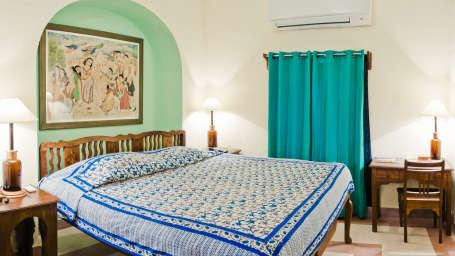 Kalam Mahal_ Tijara Fort Palace_ Hotel Rooms in Rajasthan_ Rooms Near Jaipur 14