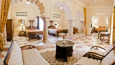 Ritu Mahal, Tijara Fort Palace, Hotel Rooms in Alwar, Rooms in Tijara 36