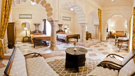 Ritu Mahal_ Tijara Fort Palace_ Hotel Rooms in Rajasthan_ Rooms Near Jaipur 36