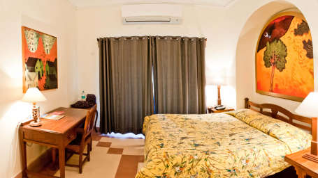 Shaikh Mahal Facade_Tijara Fort Palace_Hotel In Rajasthan