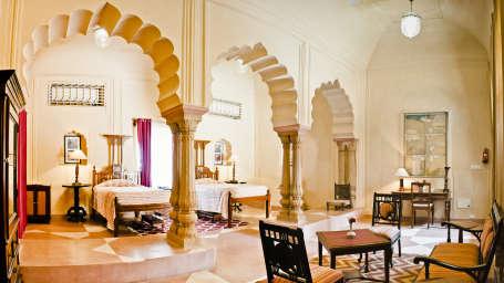Vishakha Mahal Tijara Fort-Palace Alwar Rajasthan