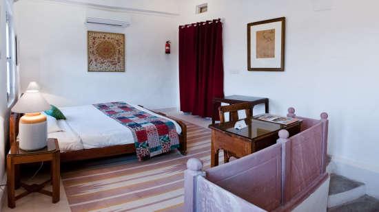 Hill Fort-Kesroli Alwar Baori Mahal 1 Heritage Hotel in Rajasthan