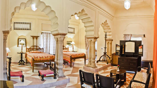 Alka Mahal 1 Tijara Fort-Palace Alwar Rajasthan