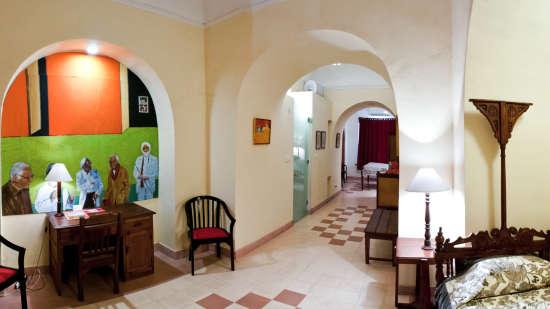 Arun Mahal Facade_Tijara Fort Palace_Hotel In Rajasthan