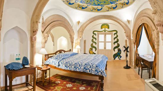 Mukesh Mahal_ Tijara Fort Palace_ Hotel Rooms in Rajasthan_ Rooms Near Jaipur 12