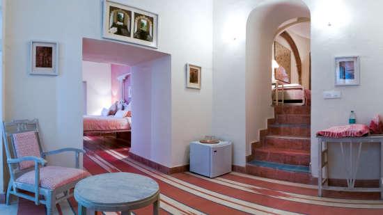 Thakore Mahal 1 Facade_Tijara Fort Palace_Hotel In Rajasthan