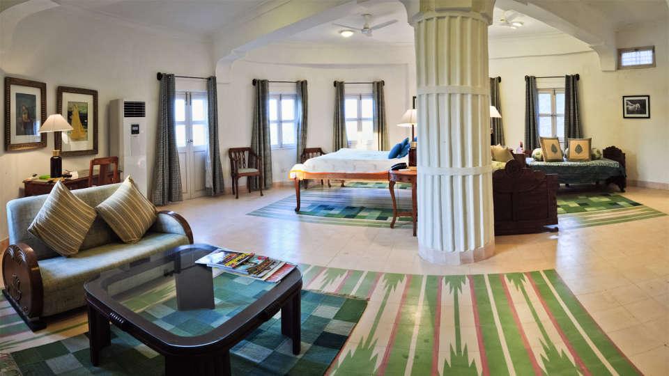 Hill Fort-Kesroli Alwar Fawn Mahal luxury hotels in Rajasthan