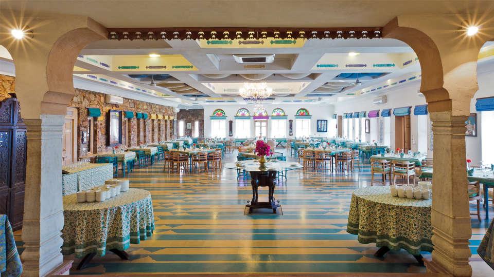 Neemrana Fort-Palace - 15th C, Delhi-Jaipur Highway Neemrana Dining Neemrana Fort Palace 8 4
