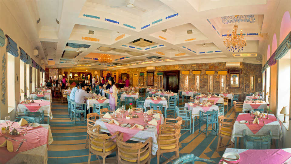 Neemrana Fort-Palace - 15th C, Delhi-Jaipur Highway Neemrana Dining Neemrana Fort Palace 8 7