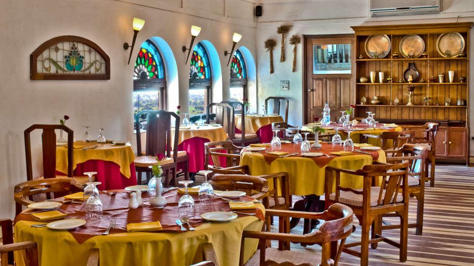 Neemrana Fort-Palace - 15th C, Delhi-Jaipur Highway Neemrana Dining Neemrana Fort Palace 8 8