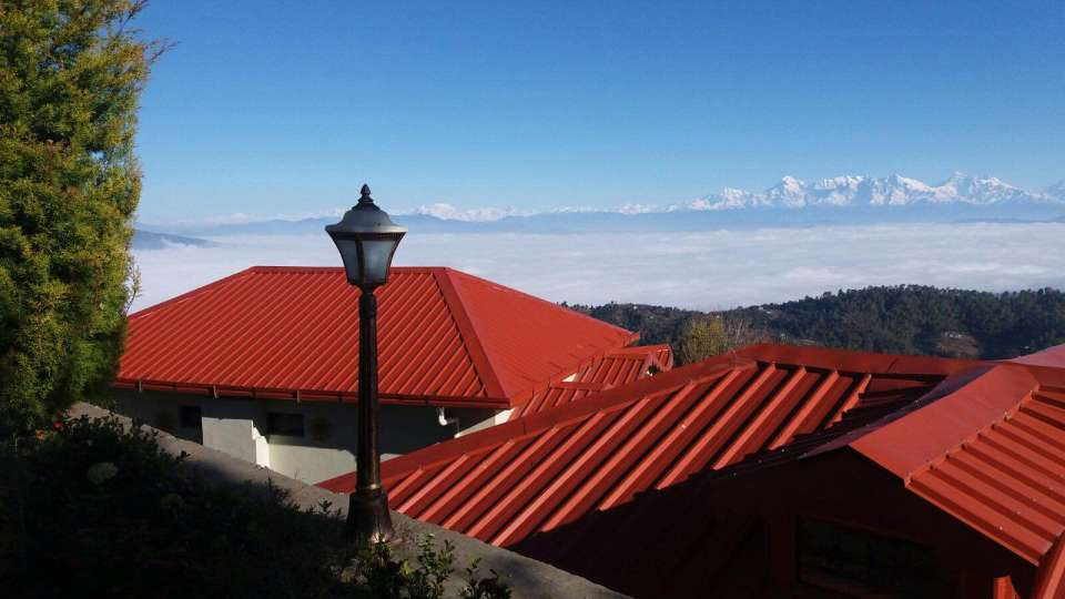 Ojaswi Himalayan Resort, Mukteshwar Nainital Roof View Ojaswi Himalayan Resort Mukteshwar 2