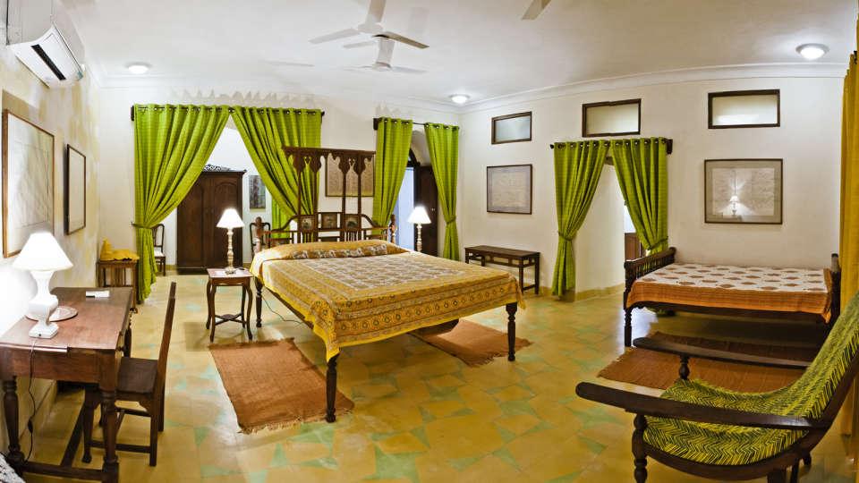 Aastha Mahal, Tijara Fort Palace, Hotel Rooms in Alwar, Rooms in Tijara 1