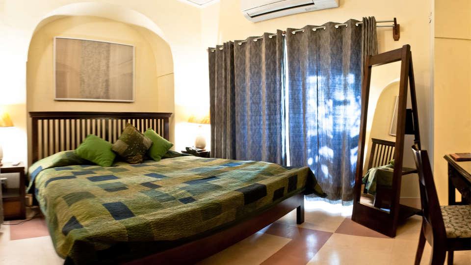 John Mahal Facade_Tijara Fort Palace_Hotel In Rajasthan