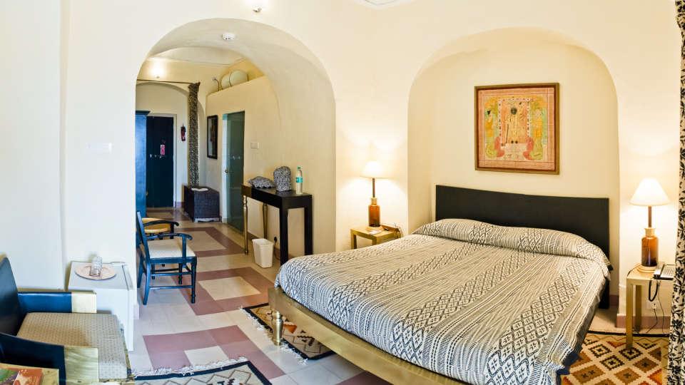 Shyam Mahal, Tijara Fort Palace, Hotel Rooms in Alwar, Rooms in Tijara 6
