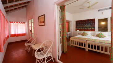 The Cunes room The Tower House Cochin Kerala