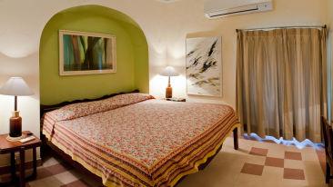 Indore Mahal Facade_Tijara Fort Palace_Hotel In Rajasthan