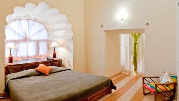 Surya Mahal 1 Facade_Tijara Fort Palace_Hotel In Rajasthan