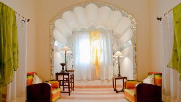 Surya Mahal Facade_Tijara Fort Palace_Hotel In Rajasthan