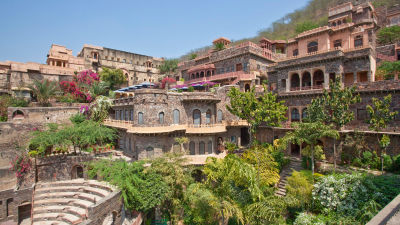 Facade Premises, Neemrana Fort Palace, palace hotel in Rajasthan 11