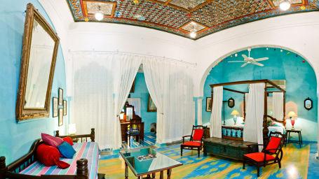 Sheesh Mahal Neemrana Fort-Palace Alwar Rajasthan