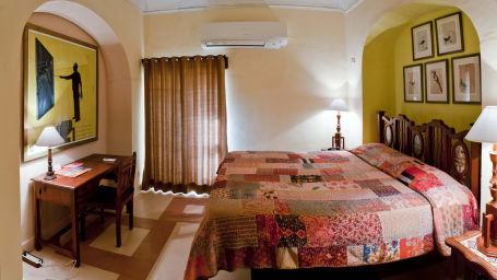 Dodiya Mahal Facade_Tijara Fort Palace_Hotel In Rajasthan