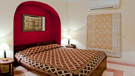 Himmat Mahal 1 Facade_Tijara Fort Palace_Hotel In Rajasthan