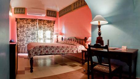 Peter Mahal Facade_Tijara Fort Palace_Hotel In Rajasthan