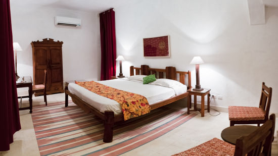 Hill Fort-Kesroli Alwar Baori Mahal Hotel Rooms in Alwar