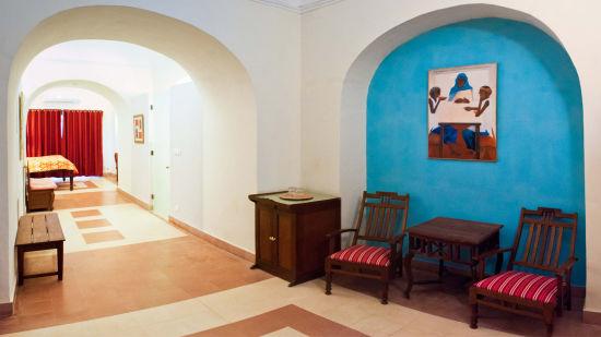 Krishan Mahal 1 Facade_Tijara Fort Palace_Hotel In Rajasthan