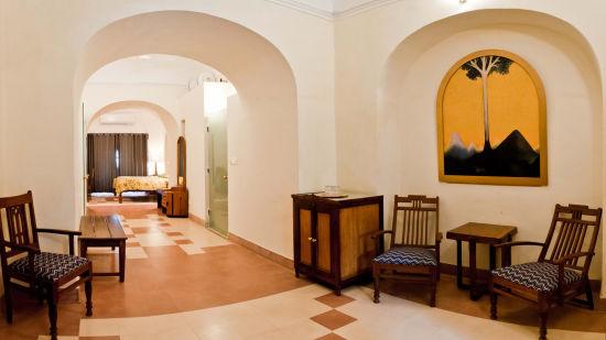 Shaikh Mahal 1 Facade_Tijara Fort Palace_Hotel In Rajasthan