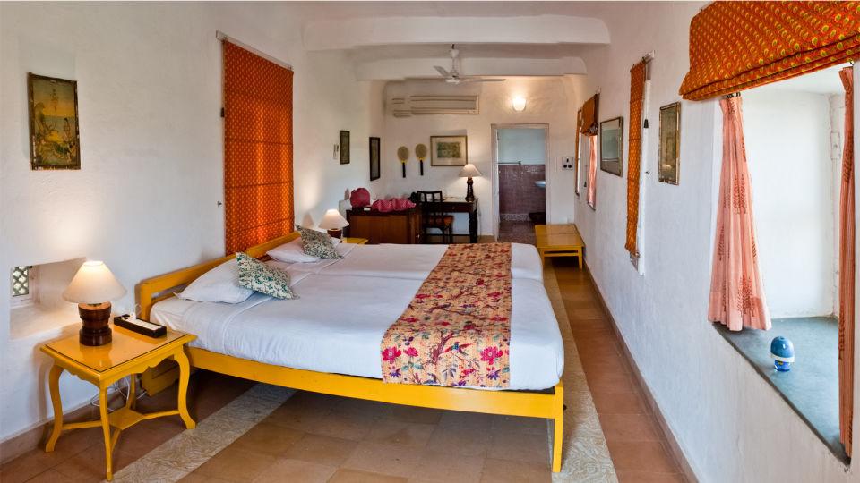 Pitambar Mahal, Hill Fort-Kesroli - 14th Century, Resorts In alwar