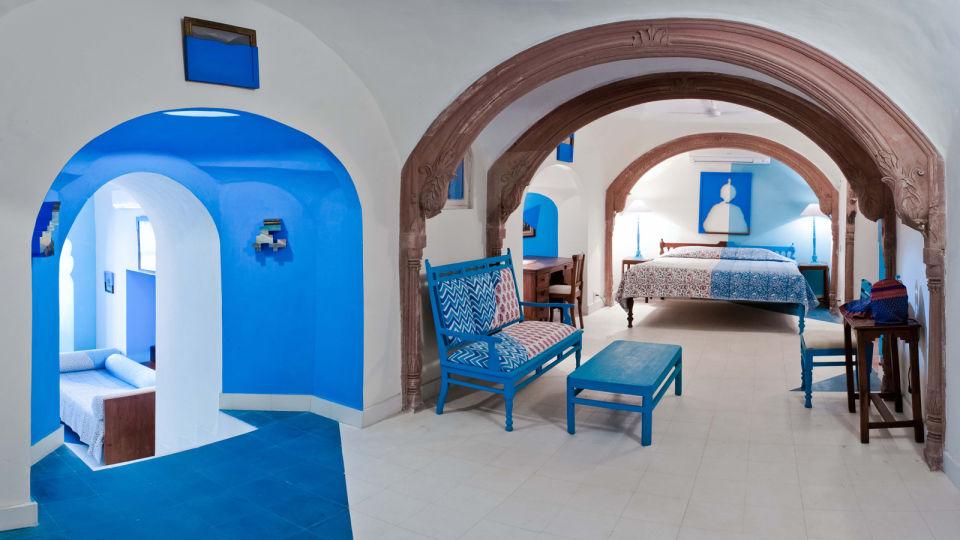 Nandan Mahal 1 Facade_Tijara Fort Palace_Hotel In Rajasthan