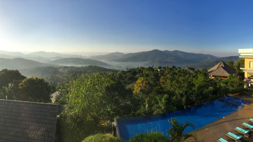 Swimming pool, poetree sarovar portico thekkady, best hotels in thekkady 10