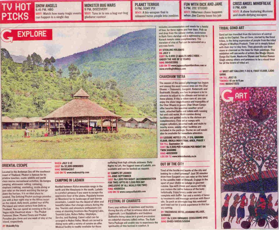 The Haveli Hari Ganga Hotel, Haridwar Haridwar Media Coverage 6 of The Haveli Hari Ganga Hotel Haridwar