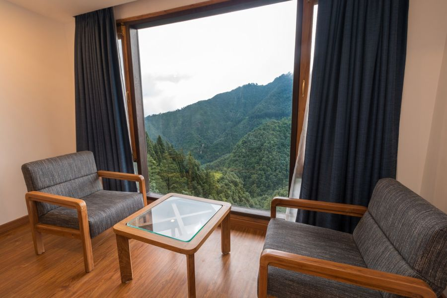 alt-text luxury hotel rooms in Mussoorie, Hotel rooms in Mussoorie, Hotel Pacific Mussoorie