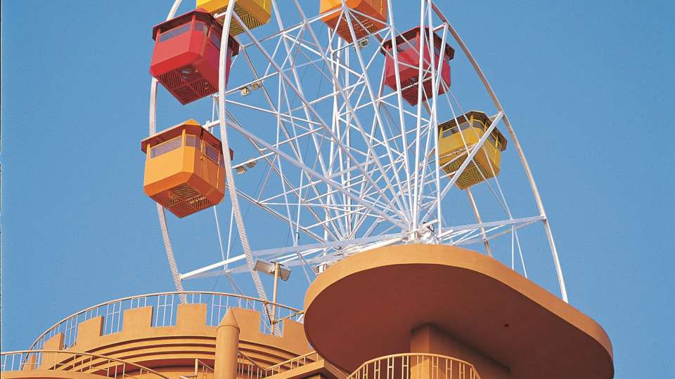 Dry Rides - Sky Wheel at Wonderla Kochi Amusement Park