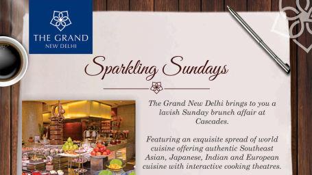 Sunday offer, The Grand New Delhi, Vacation in Delhi