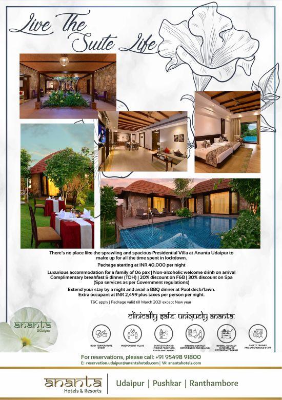 Ananta Presidential Suite Jaipur-2