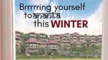 Winter Packges - Ananta Udaipur 2 RSO Jaipur 2