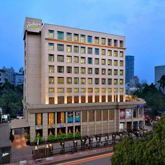 Facade Radisson Mumbai Goregaon 2